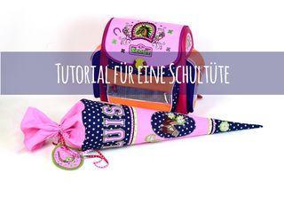 Anleitung: Eine Schultüte nähen | Lillesol und Pelle | Bloglovin'