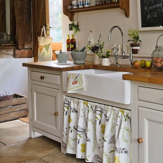 We ve got pipes google images sinks and butler sink for Country cottage kitchen ideas