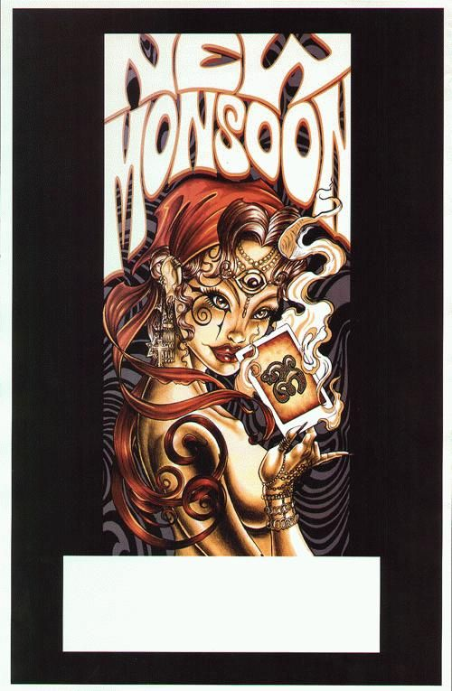 Original Tour Blank Promo For New Monsoon 11x17 On Thin Glossy Paper Hipster Decor Concert Posters Art Music