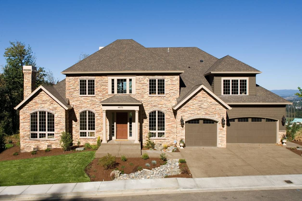 Plan am stone exterior luxury design stone exterior tray
