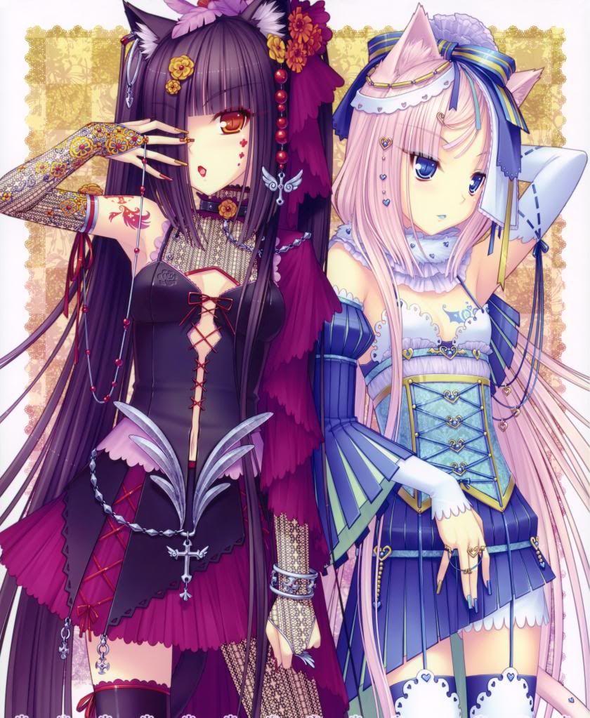 chocolate and vanilla neko anime | Chocolate and Vanilla Anime ...