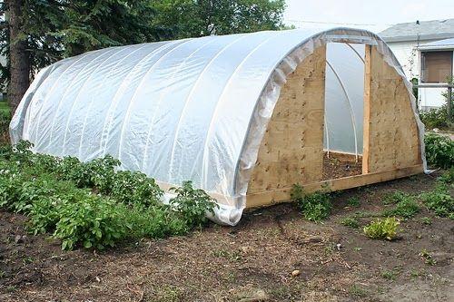 les jardins de christelle une serre tunnel faite maison pour pas cher jardin pinterest. Black Bedroom Furniture Sets. Home Design Ideas