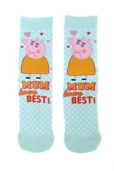Happy Mummy Pig's Day! on Pinterest | Pigs, Sock and Words ...