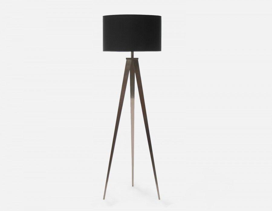 Tripod Lampe Sur Pied 160cm Haut Noir En 2019 Lampadaire Blanc Lampe Sur Pied Et