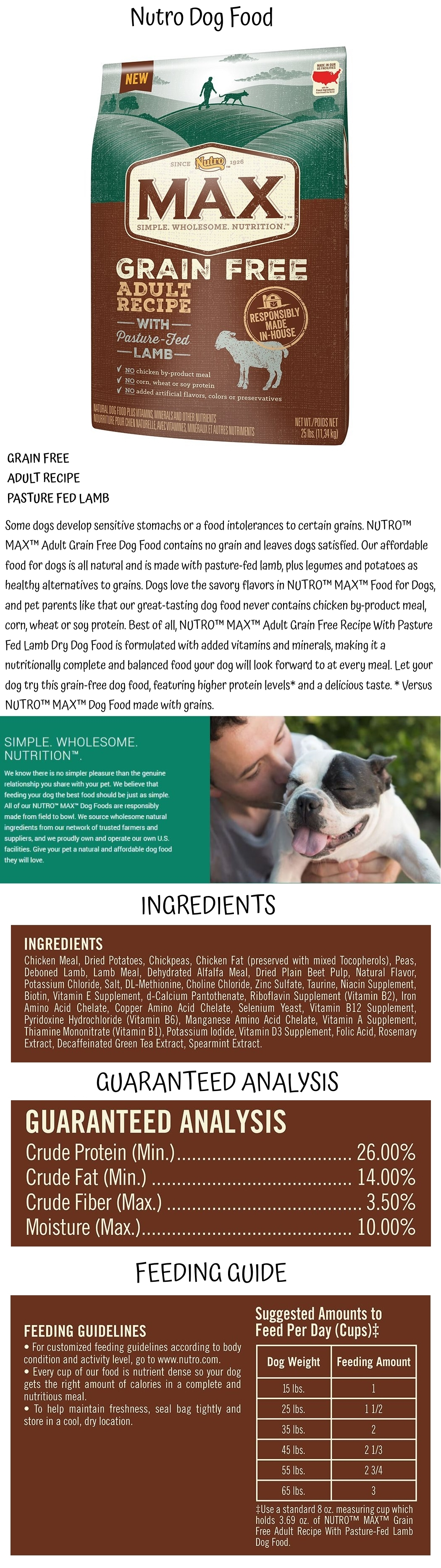 Pin By Best Pet Things On Nutro Dog Food Nutro Dog Food Dog