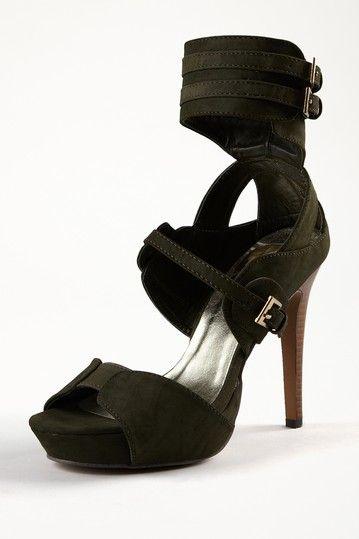 NYLA Ankle Cuff Platform Sandal