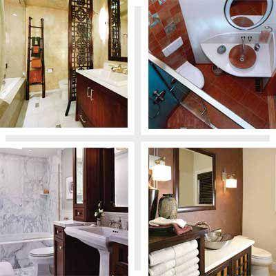 13 Big Ideas For Small Bathrooms