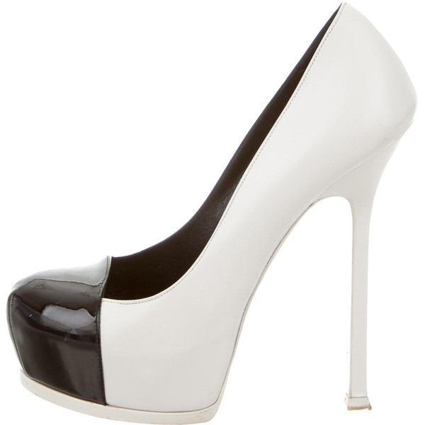 Pre-owned - Tribute leather heels Saint Laurent NWcwo