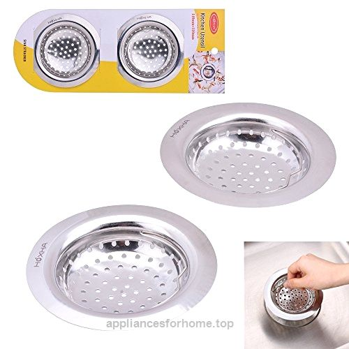 2PCS Stainless Steel Sink Strainer for Garbage Disposal By Hoxha ...