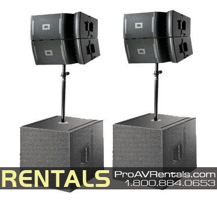b3098454ccb JBL VRX Line Array Speaker Package Rental | Music en 2019 | Equipo y ...