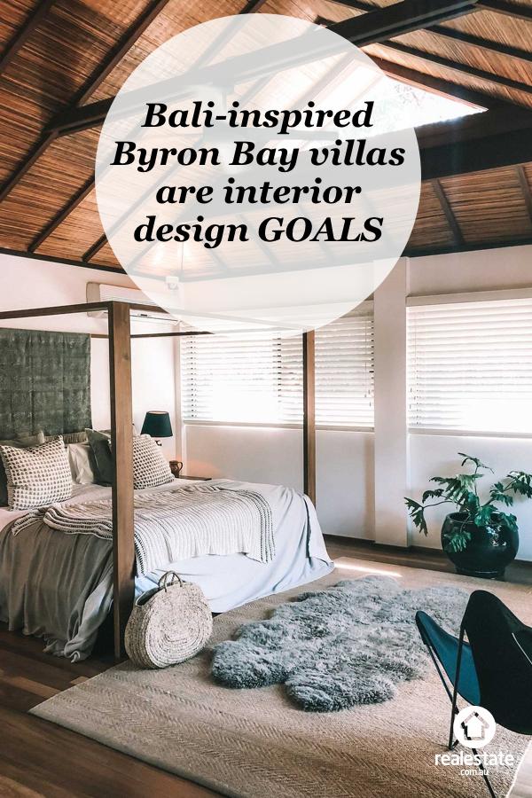 These Bali Inspired Byron Bay Villas Are Interior Design Goals Bali Bedroom Interior Design Bali Decor