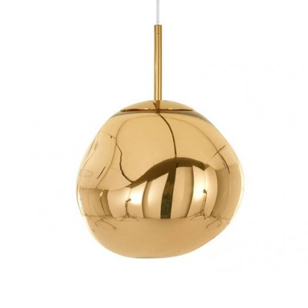 Melt Mini Pendant Gold Mini Pendant Tom Dixon Tom Dixon Melt