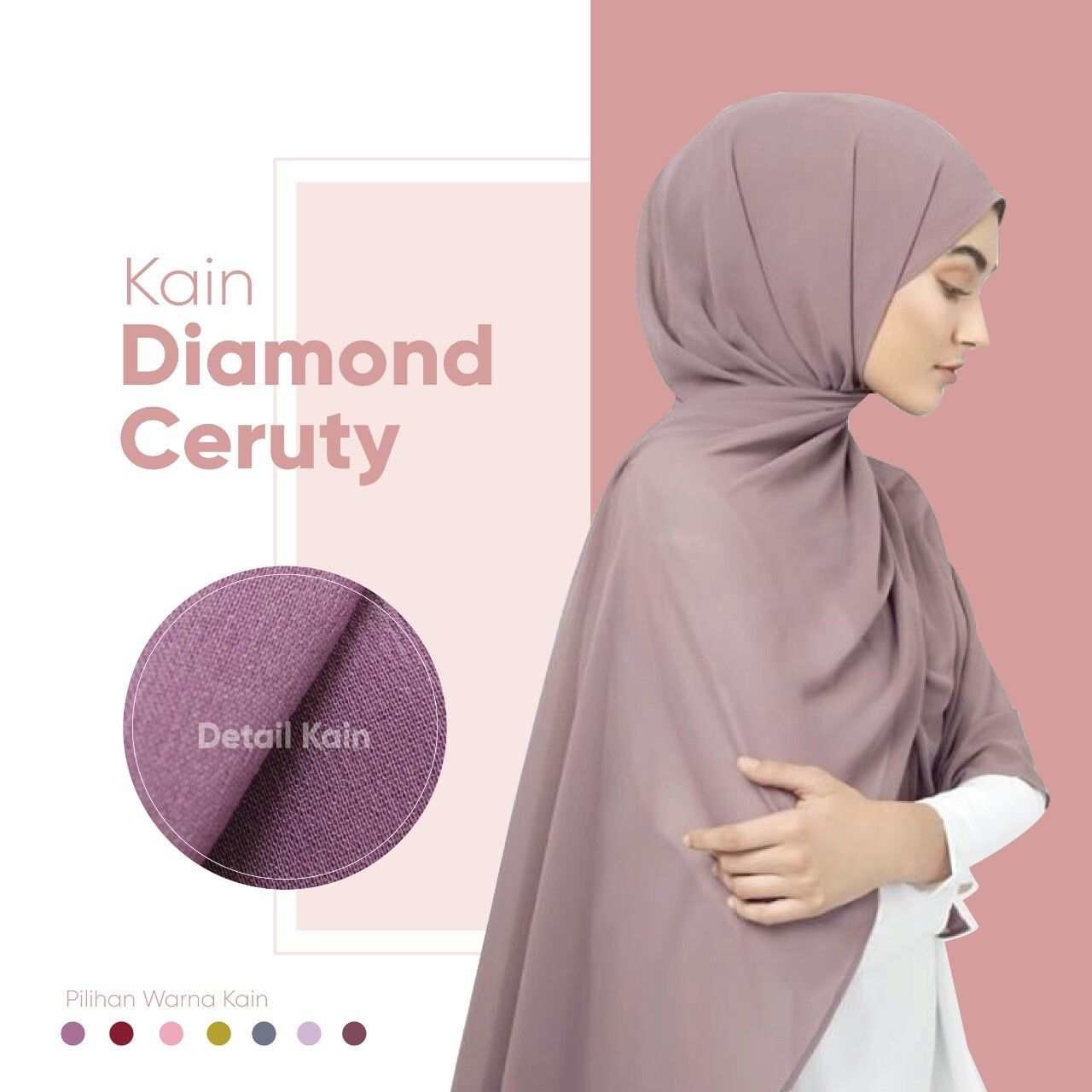 Hijab Bahan Diamond 1