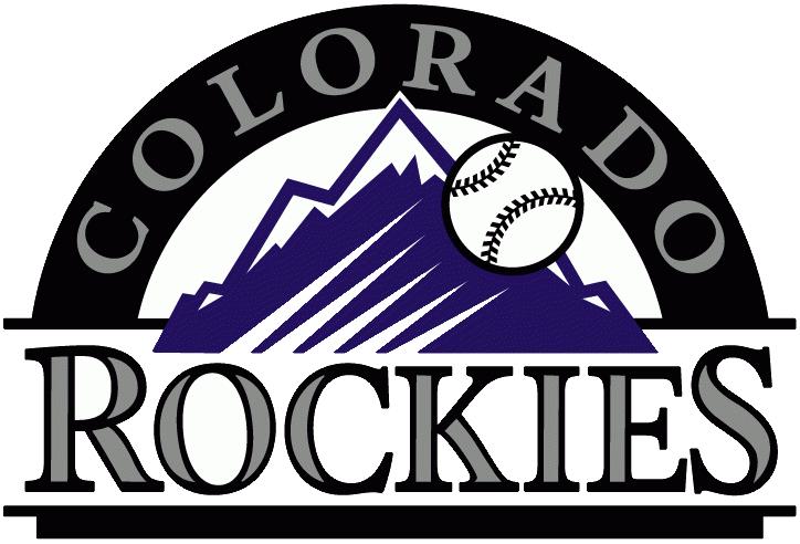 Colorado Rockies Primary Logo Colorado Rockies Baseball Colorado Rockies Rockies Baseball