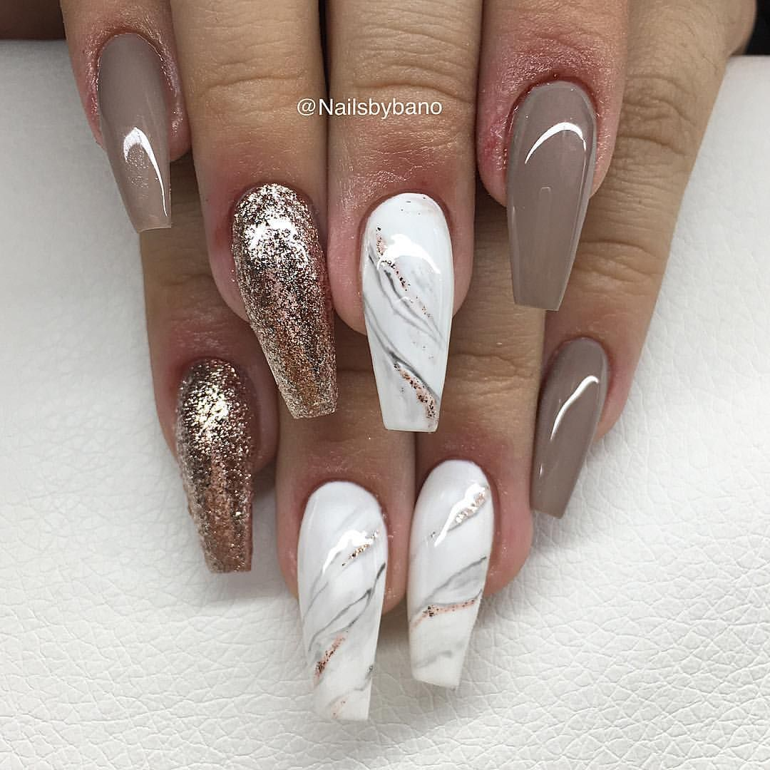 Coffin nails @KortenStEiN | 10 lil lovely\'s | Pinterest | Coffin ...