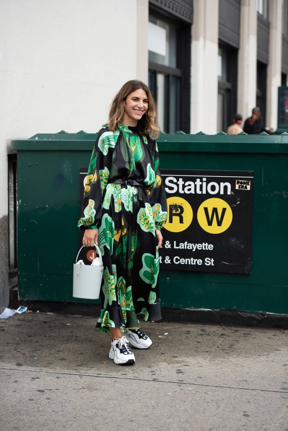 New York Fashion Week Street Style Is All About Looking Staying