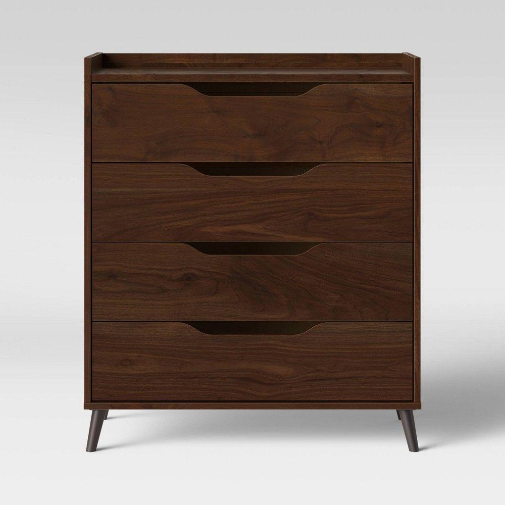 Best Modern Gallery Horizontal Bookcase Walnut Brown Room 400 x 300