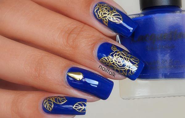 Diseños De Uñas Con Os Estampados Diseño O Oro Clic Follow