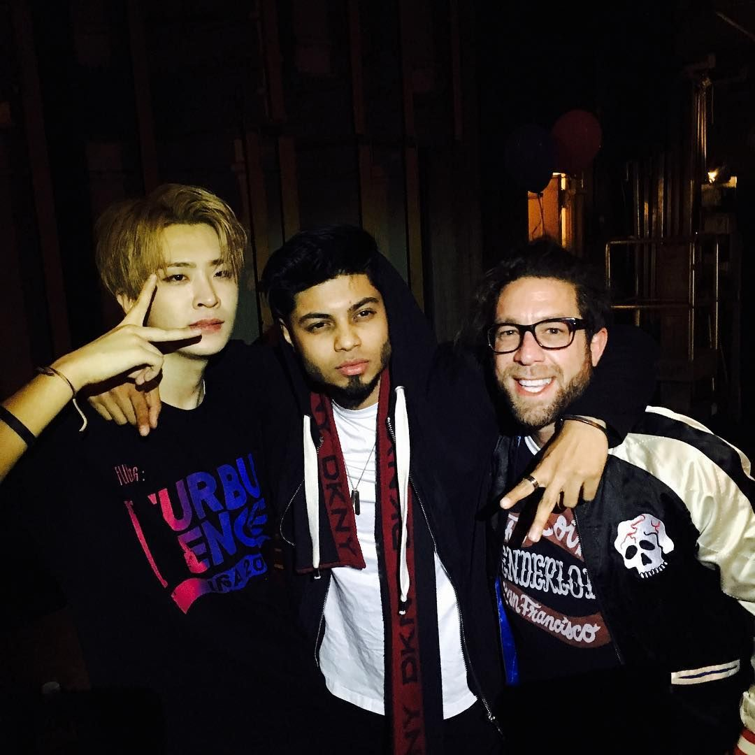 GOT7's Youngjae meets Elliot Yamin and Sanjoy all thanks to his fans — Koreaboo