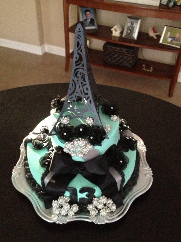 how to make an eiffel tower cake Golden Eiffel Tower Wedding Cake