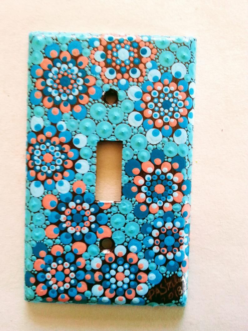 Pin by Leire Alejandra on Painted Things Light switch