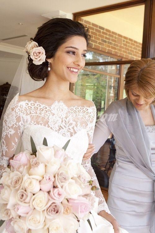 spanish lace wedding dress