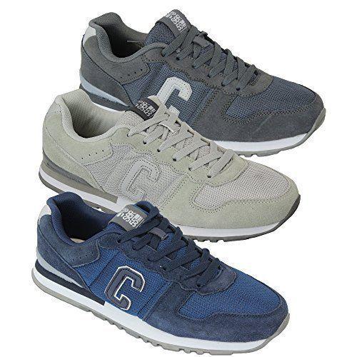 Herren Sportschuhe Crosshatch Sneakers Schuhe mit Schnürsenkel Wildleder Rennschuhe Netz Designer Neu - http://on-line-kaufen.de/crosshatch/herren-sportschuhe-crosshatch-sneakers-schuhe