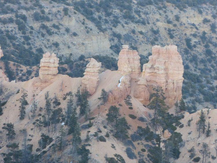 spectacular erosional features