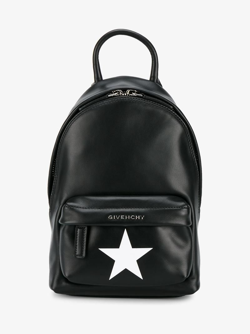 2b7cf9675b1 GIVENCHY Star-Printed Nano Backpack. #givenchy #bags #leather #backpacks  #cotton #