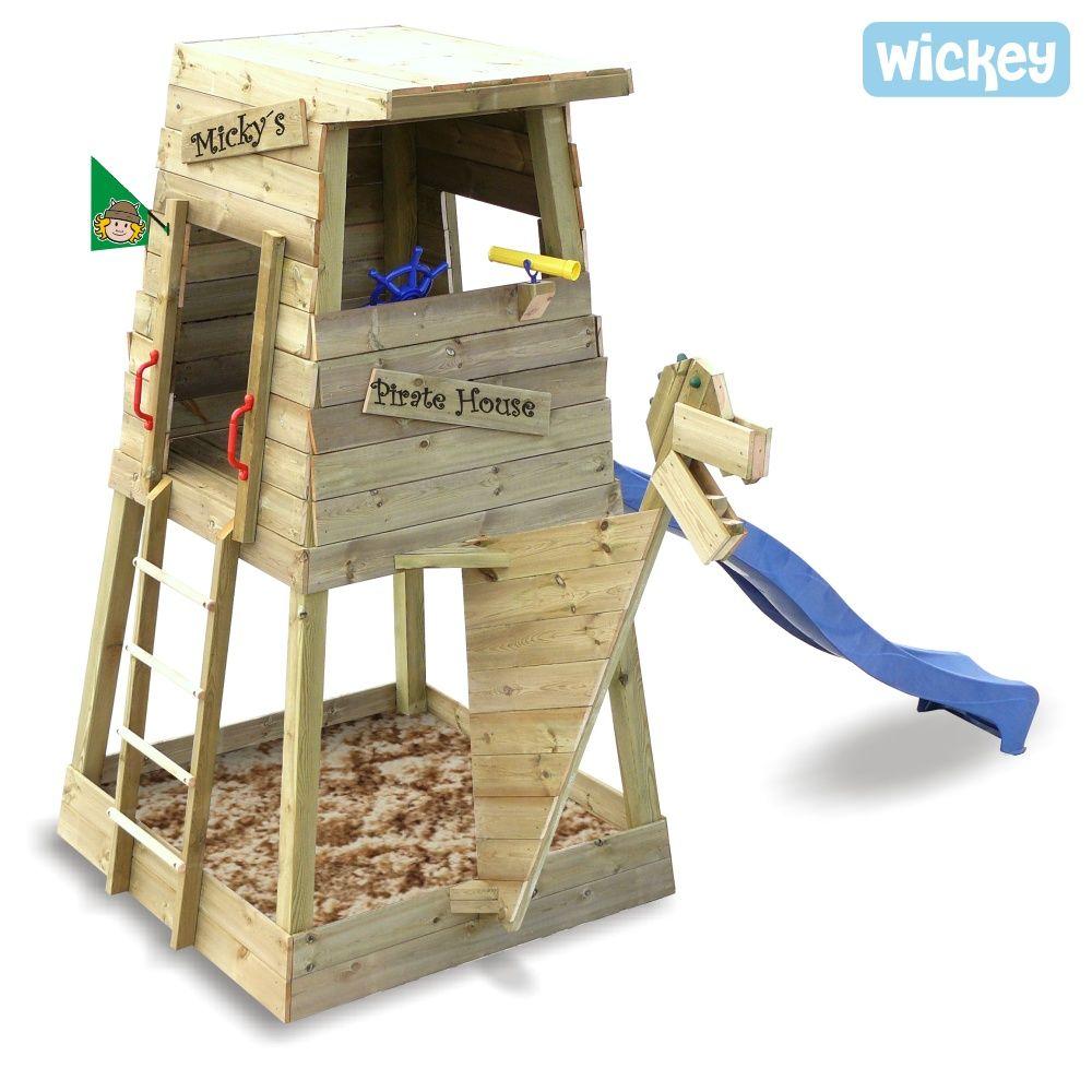 Beautiful Kletterturm Wickey Pirate s Home Neue Kombination Spielturm Garten SandkastenWasserspieleKletterger stePiraten