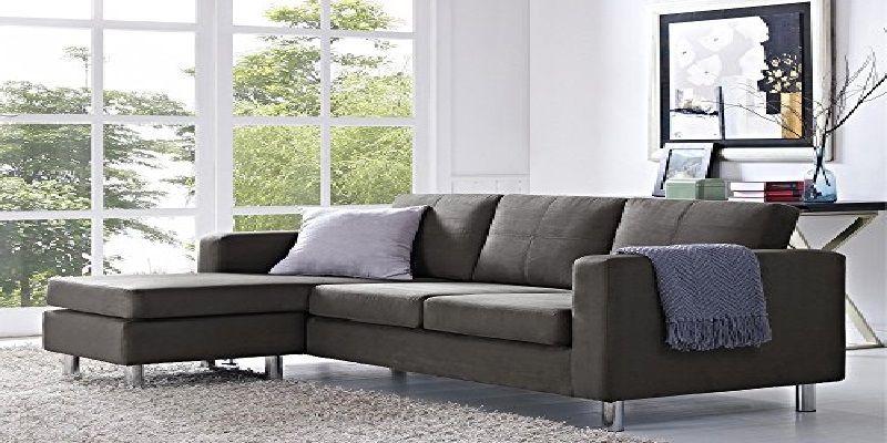Small Sectional Sofa Amazon Chaise Lounge Living Room Grey Sectional Sofa Corner Sofa Set