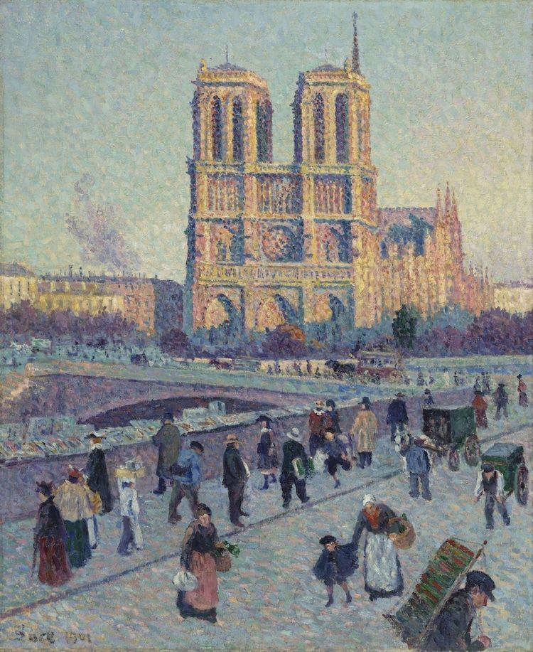 Notre Dame In Art How The Medieval Cathedral Has Enchanted