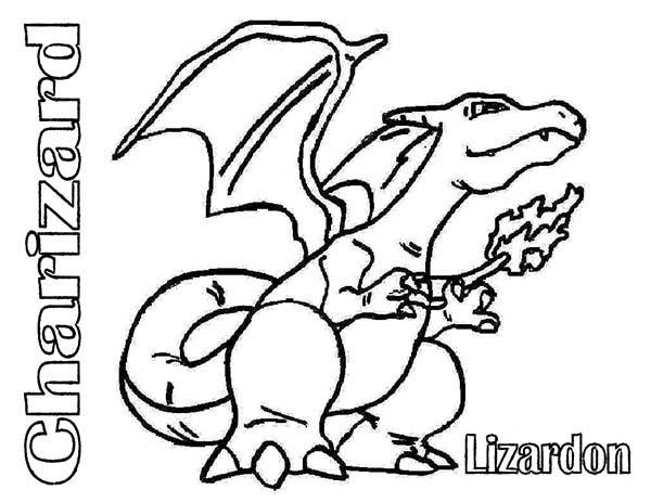 Charizad Pokemon Lizardon Coloring Pages Bulk Color Pokemon Coloring Pages Coloring Pages Pokemon Sketch