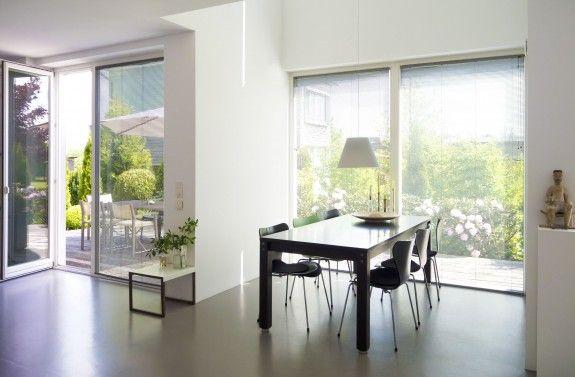 immer h ufiger wird estrich auch als bodenbelag verwendet tipps pinterest home room und. Black Bedroom Furniture Sets. Home Design Ideas