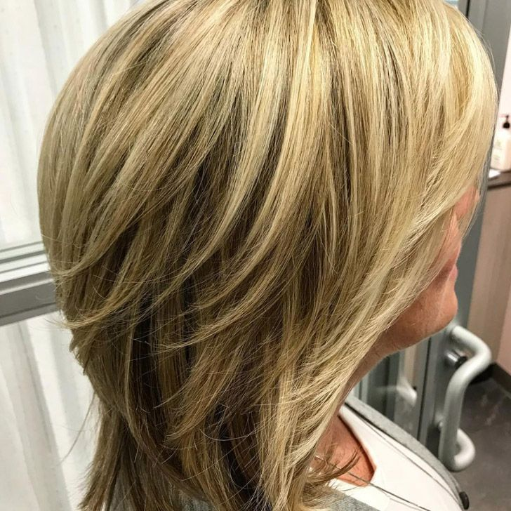 short to medium length hairstyles for over 60