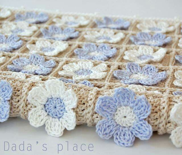 Pin de Liz Loves Pinterest en Crafts and crochet | Pinterest | Manta ...