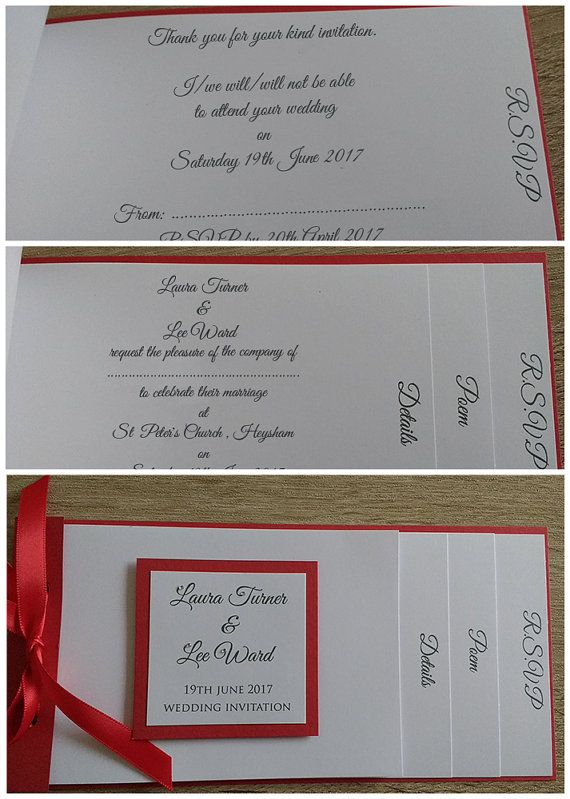 Cheque Book Style Wedding Invitation Weddings Wedding, Wedding