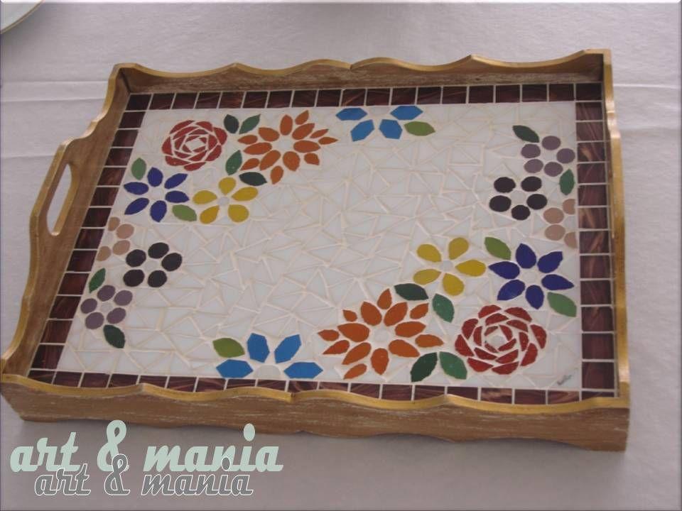 Resultado de imagen para bandejas con mosaicos