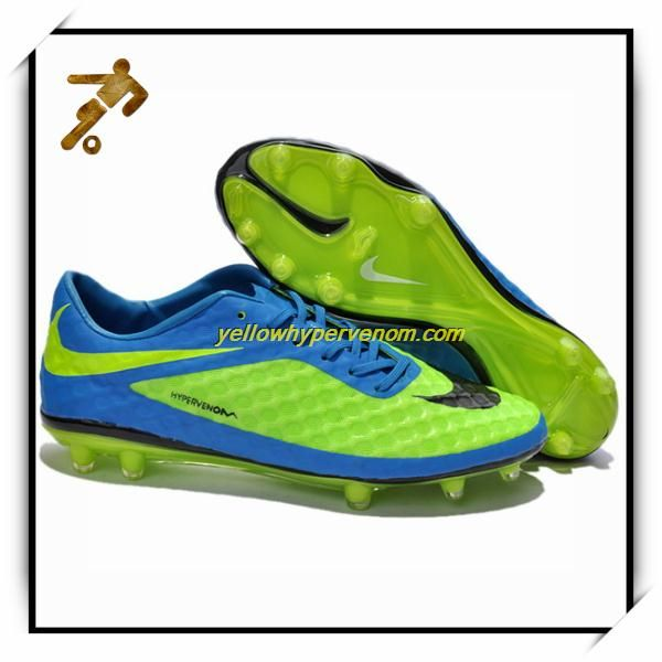 New Neymar Nike Hypervenom Phantom FG Flash Lime Soccer Cleats Kids