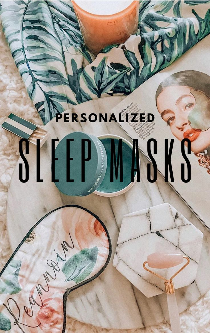 Personalized Sleep Mask Will you be my bridesmaid gifts