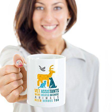 Amazon Mug Veterinary Vet Vet Assistants Heroes Mug Vet