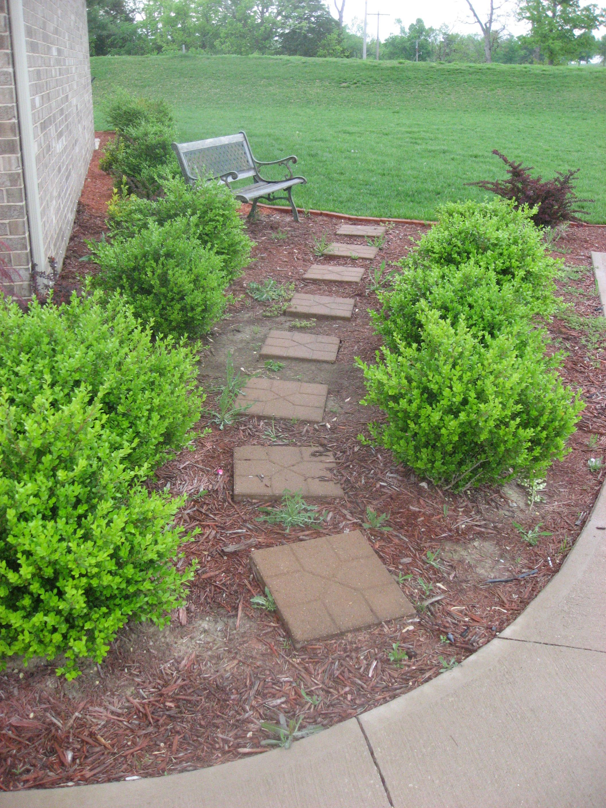 Garden-friendly pavers are a perfect outdoor DIY project for spring.