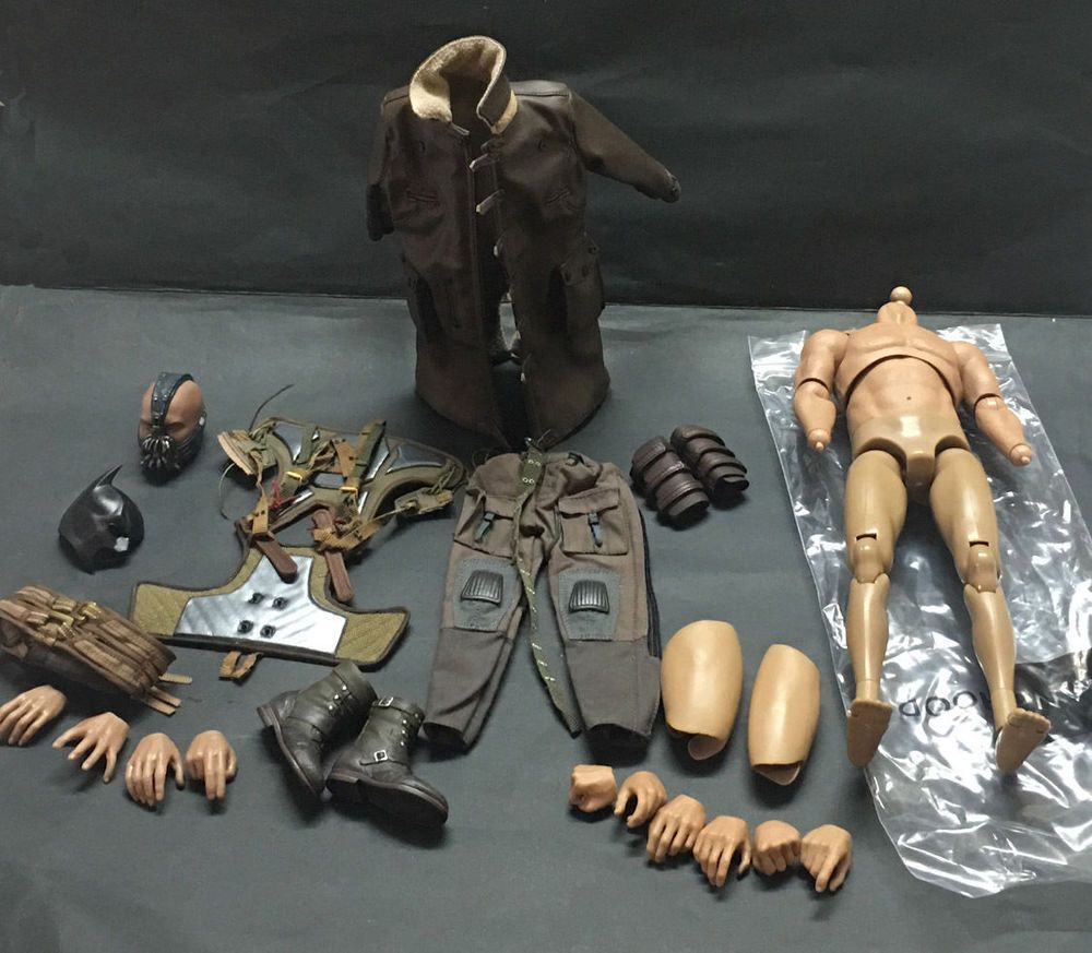 hot 1//6  Muscle Base Body action figure good fit BATMAN Bane Terminator toys