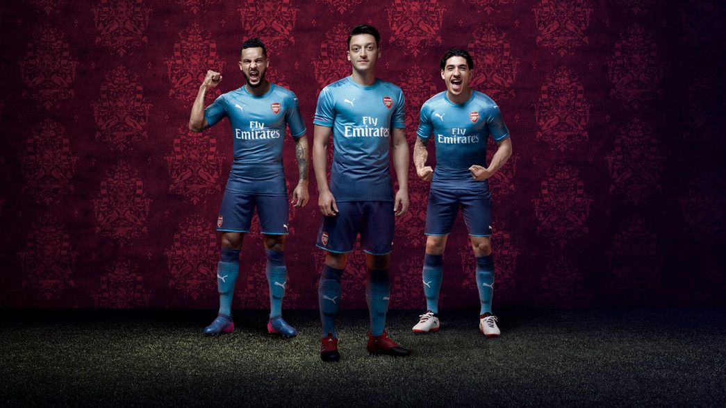 e7e242240 Arsenal release new Puma away kits for 2017 2018