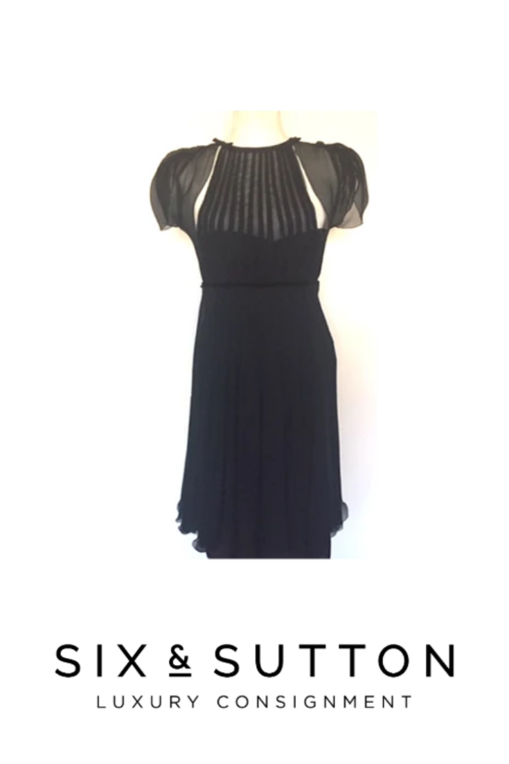 Vintage Prada Cocktail Dress In 2020 Dresses Fashion Luxe Fashion