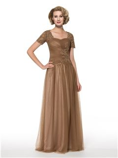 885c404ff6e ericdress.com offers high quality Ericdress Elegant Short Sleeves Long  Mother of the Bride Dress Mother of the Bride Dresses 2015 unit price of    117.91.