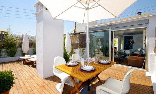 Terraza Duque De Calabria Vlc Valencia Luxury Apartamentos Hogar Alojamiento