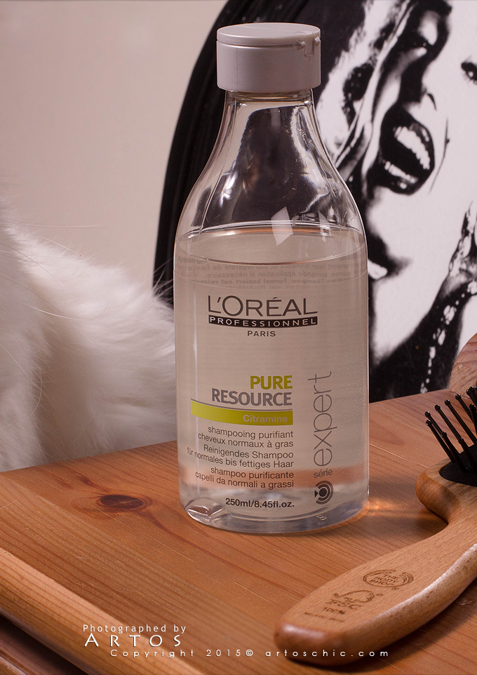 L Oreal Professionnel Expert Serie Pure Resource Citramine Shampoo شامبو منقي للشعر و الفروة من لوريال بروفسي Shampoo Shampoo Bottle L Oreal Professionnel