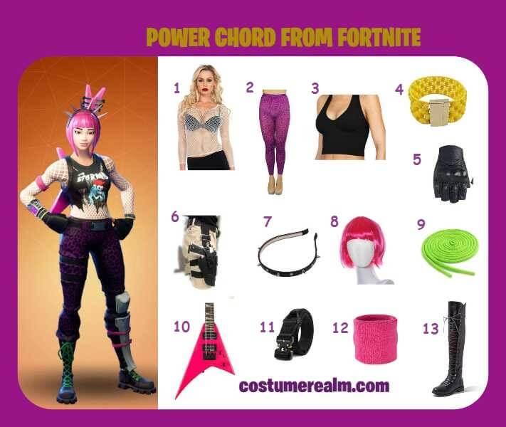Fortnite Power Chord Fortnite Power Chord Anime
