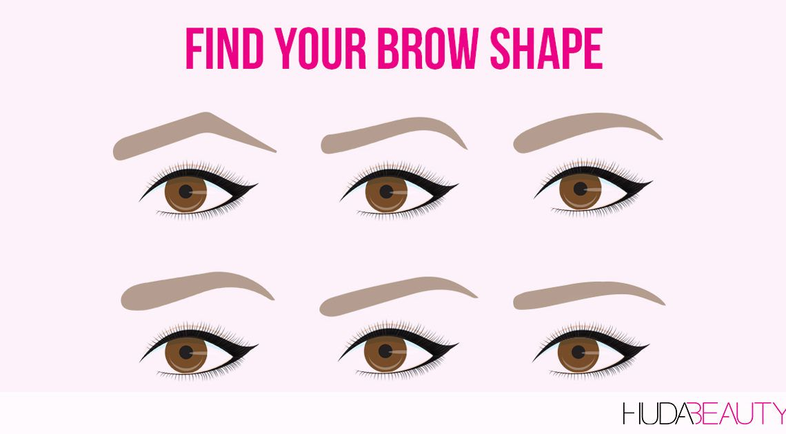 How To Shape Your Brows To Flatter Your Face | Diamond ...
